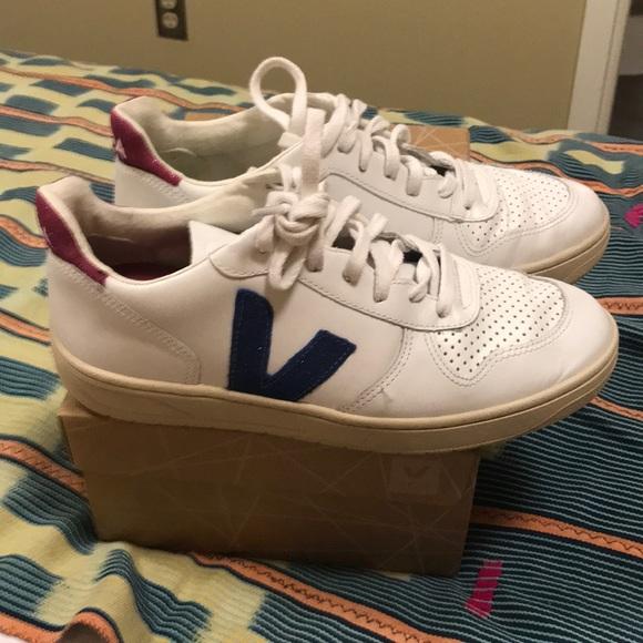 Veja V Extra White Nen Magenta Sneakers